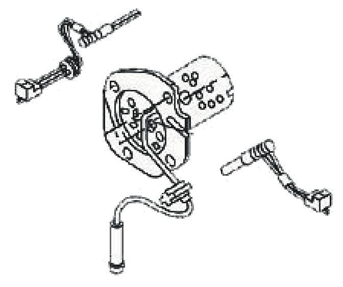 657-87B Burner Assembly Kit Webasto Air Top 2000D Repair Part