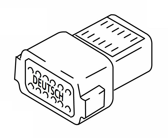 850-42A Pin Housing Webasto Thermo 90 / Thermo 90S Repair Part