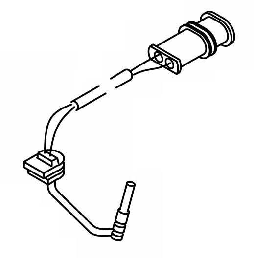 9005931B Glow Pin, 24 Volt Webasto Thermo 90ST Repair Part