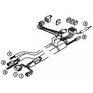 906-138D Wiring Harness TSL17 Repair Part