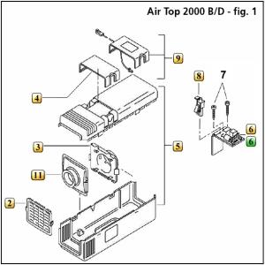 Air Top 2000D Figure 1