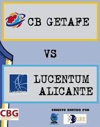 Sure Service patrocina la emisión en directo del partido CB Getafe-Lucentum.