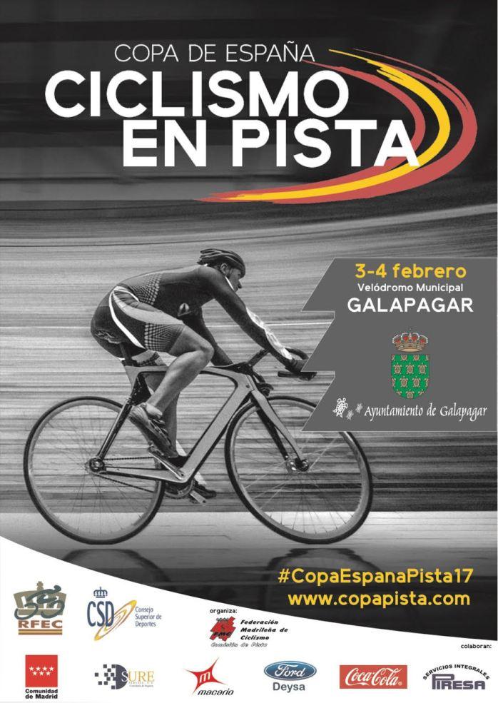 Sureservice colaborando con la Copa de España de Ciclismo en Pista 2017