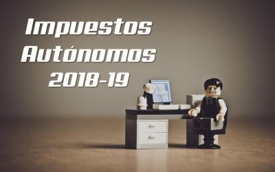 Guía rápida de los impuestos del autónomo en el 2018