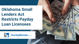 Oklahoma Small Lenders Act Restricts Payday Loan Licensees