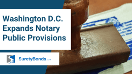 Washington D.C. Expands Notary Public Provisions