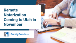 Remote Notarization Coming to Utah in November