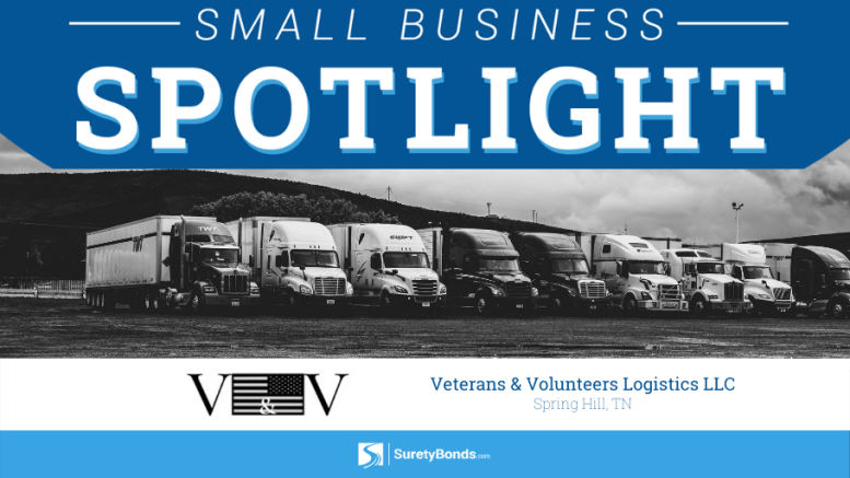 Veterans and Volunteers Logistics LLC, Spring Hill TN