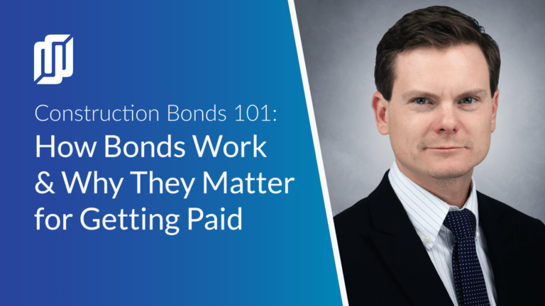 How bonds work and why they matter for getting paid