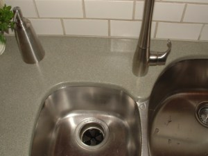Solid Surface Sink Repair Hole Seal Surface Link