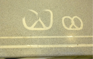 Auntie Anne's countertops Surface Link Before