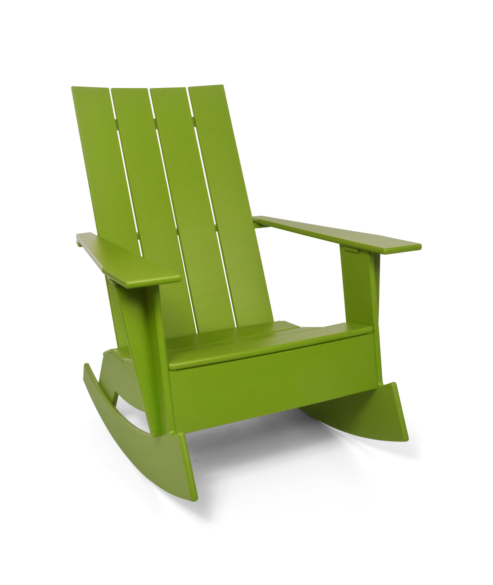adirondack chairs recycled materials swing chair metal stand modern for doloandes public pool - surface matter
