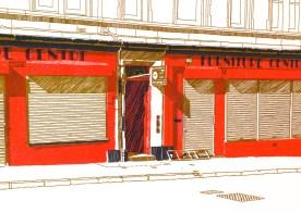 Furniture Centre, Easter Road (Detail)