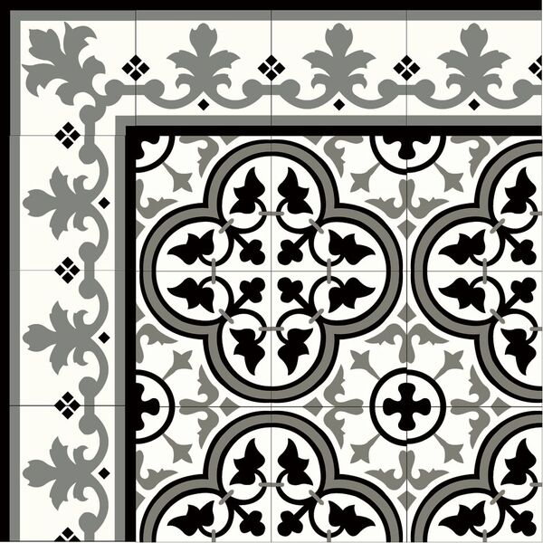 original mission tile handmade cement
