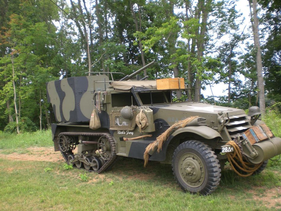 Selling my M15A1 halftrack G503 Military Vehicle Message