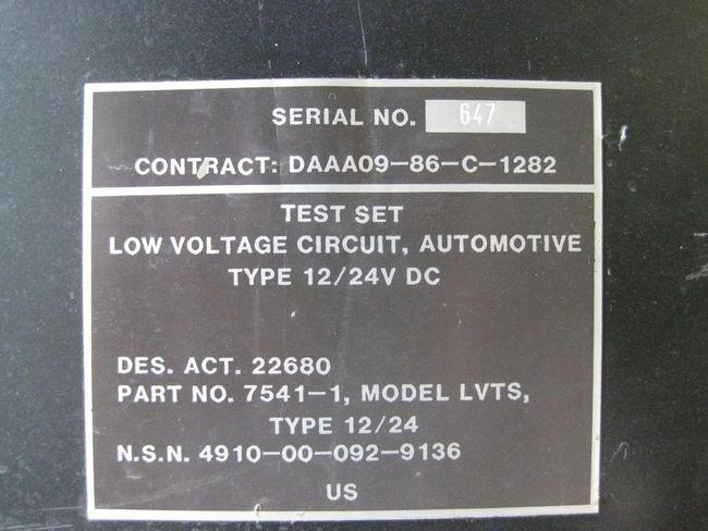 Low Voltage Circuit
