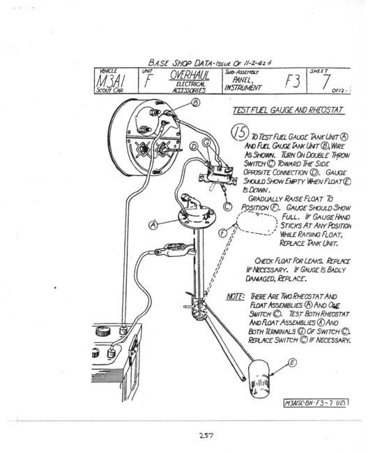 stewart warner fuel gauge wiring diagram   40 wiring