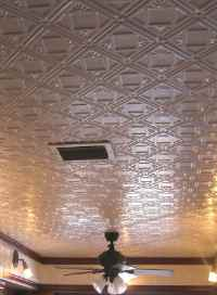 Pattern #207 - All Colors - 2'x4' Faux Tin Ceiling Tile ...