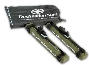 Destination Surf Rack Pads w/ Straps For Sale at