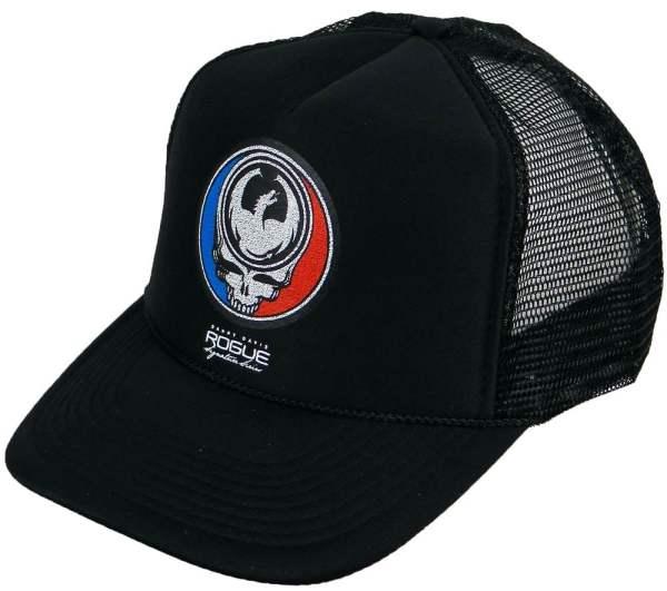 Dragon Grateful Dead Trucker Hat - Black