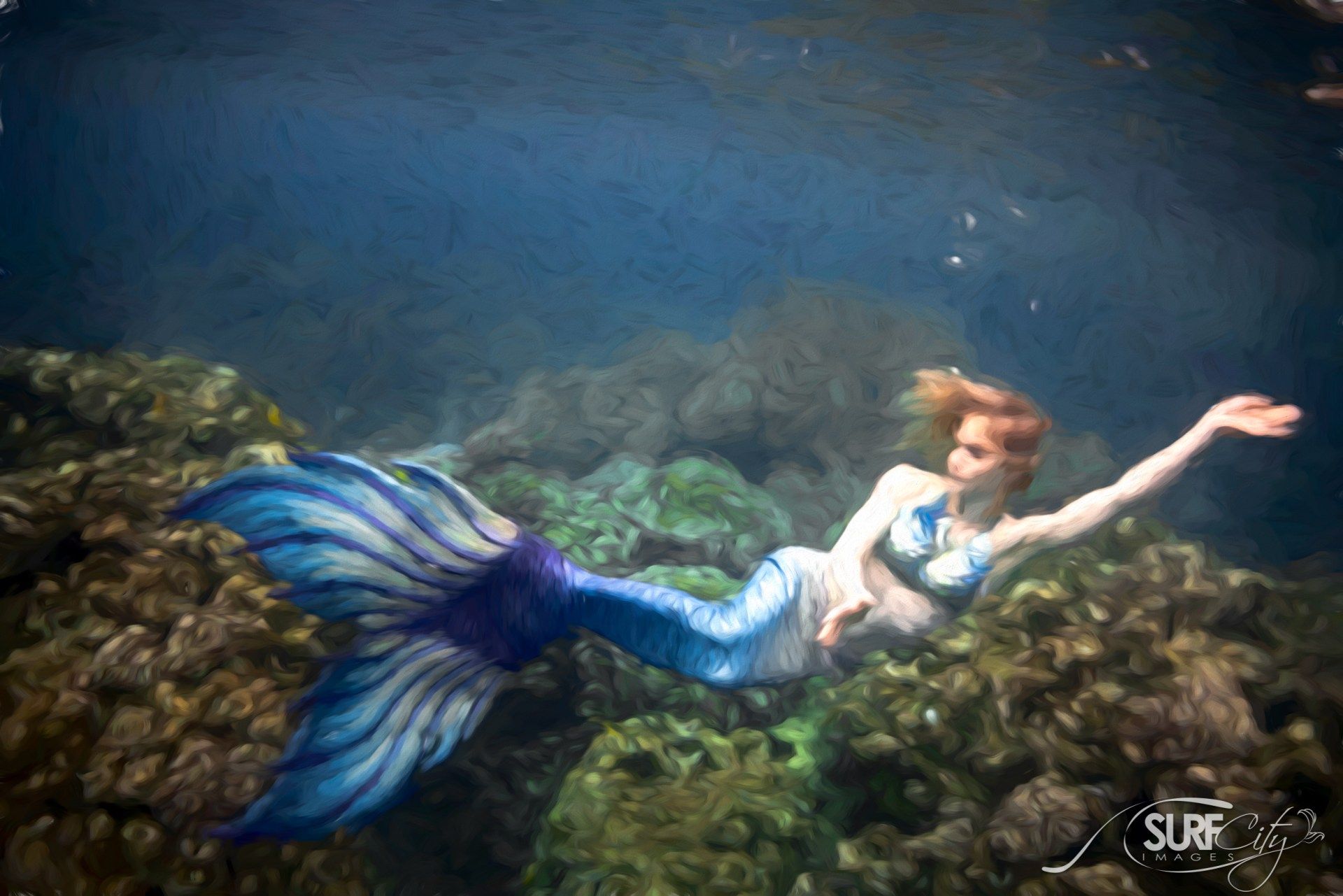 Underwater Mermaids Captain Cook Marine Sanctuary