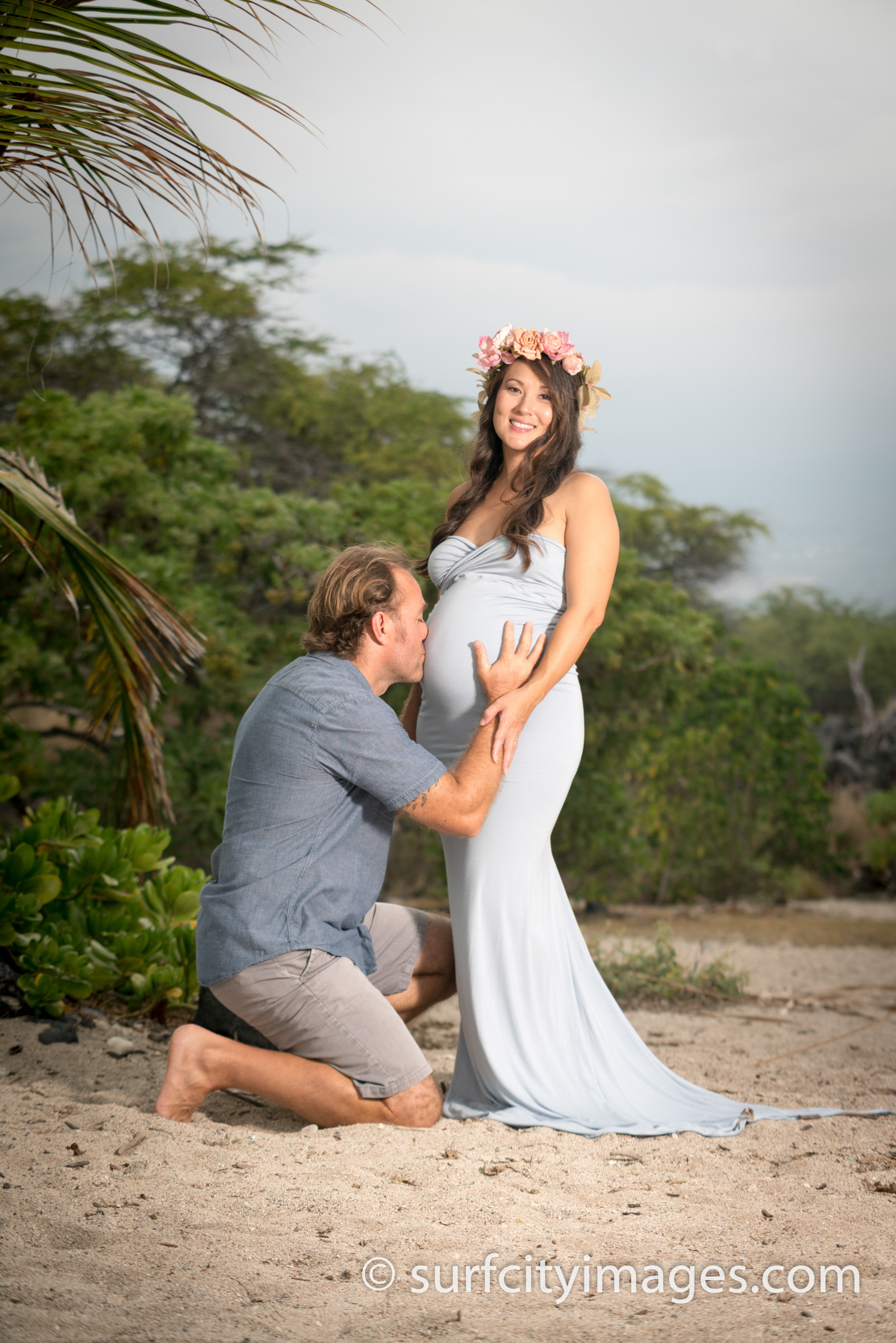 Hawaiian Maternity Photos