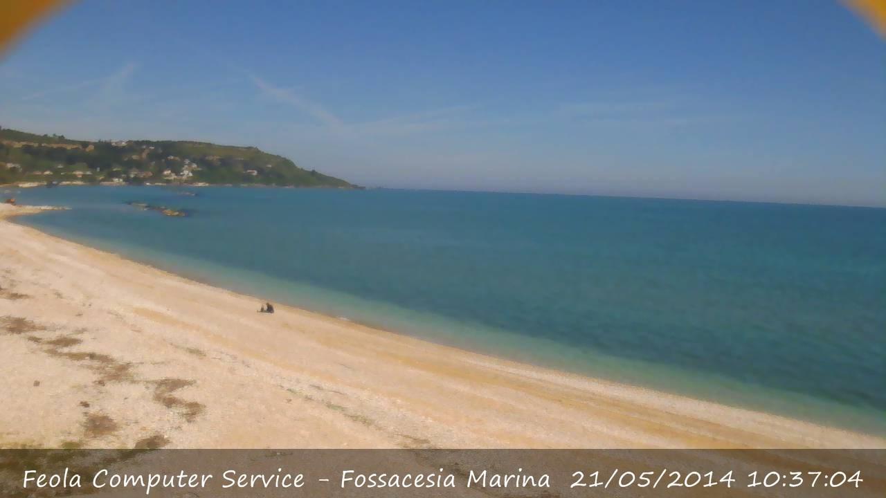 Nuova Webcam Fossacesia  Surfcornerit  italian surfing