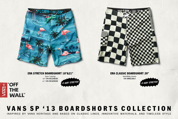 003cab190e38a Vans Spring '13 Boardshorts Collection, Available Now - SURFER Magazine