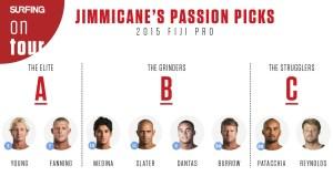 Jimmicane's Passion Picks: 2015 Fiji Pro
