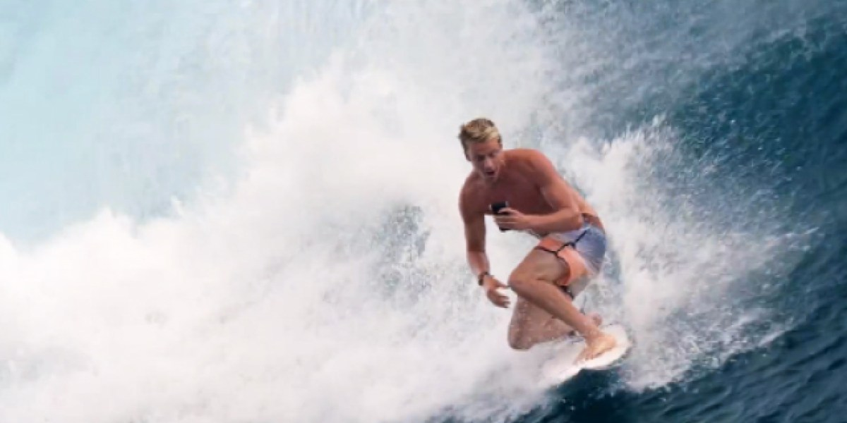 Image result for surfer using phone