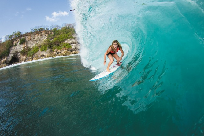 Questions And Answers, With Caroline Marks - SURFER Magazine