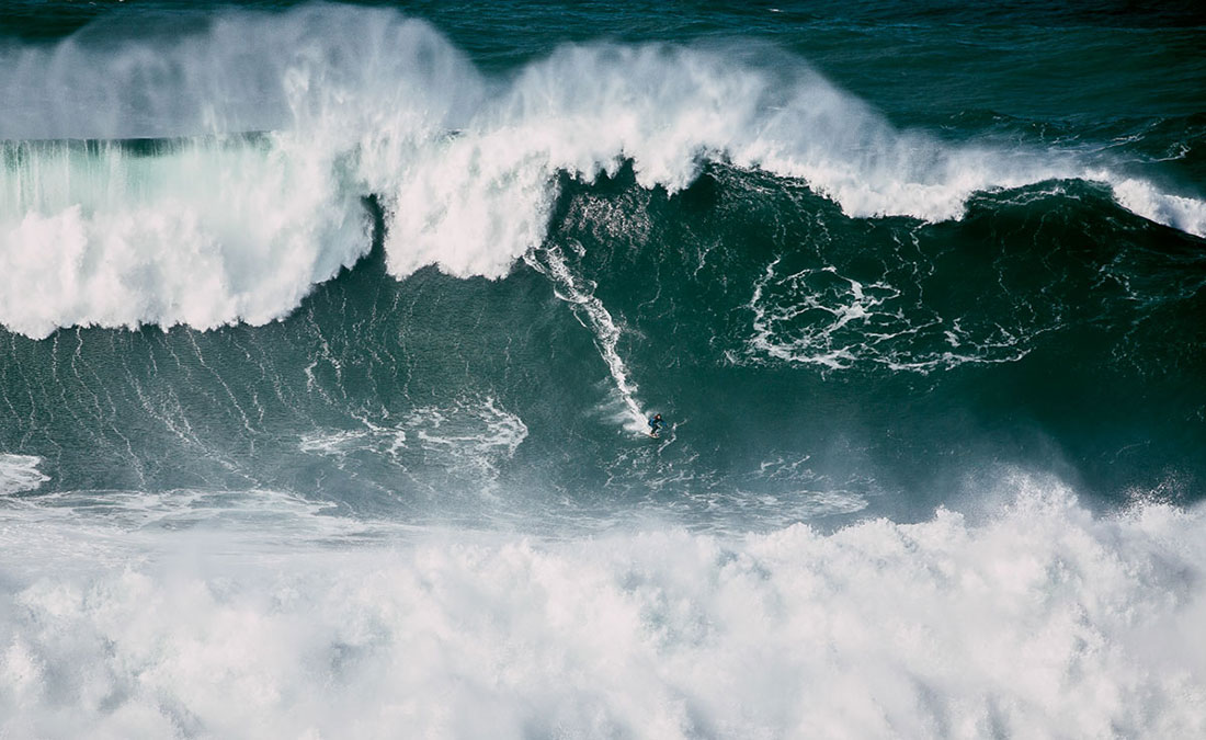 WSL to Run First-Ever Nazaré Tow Challenge This Tuesday