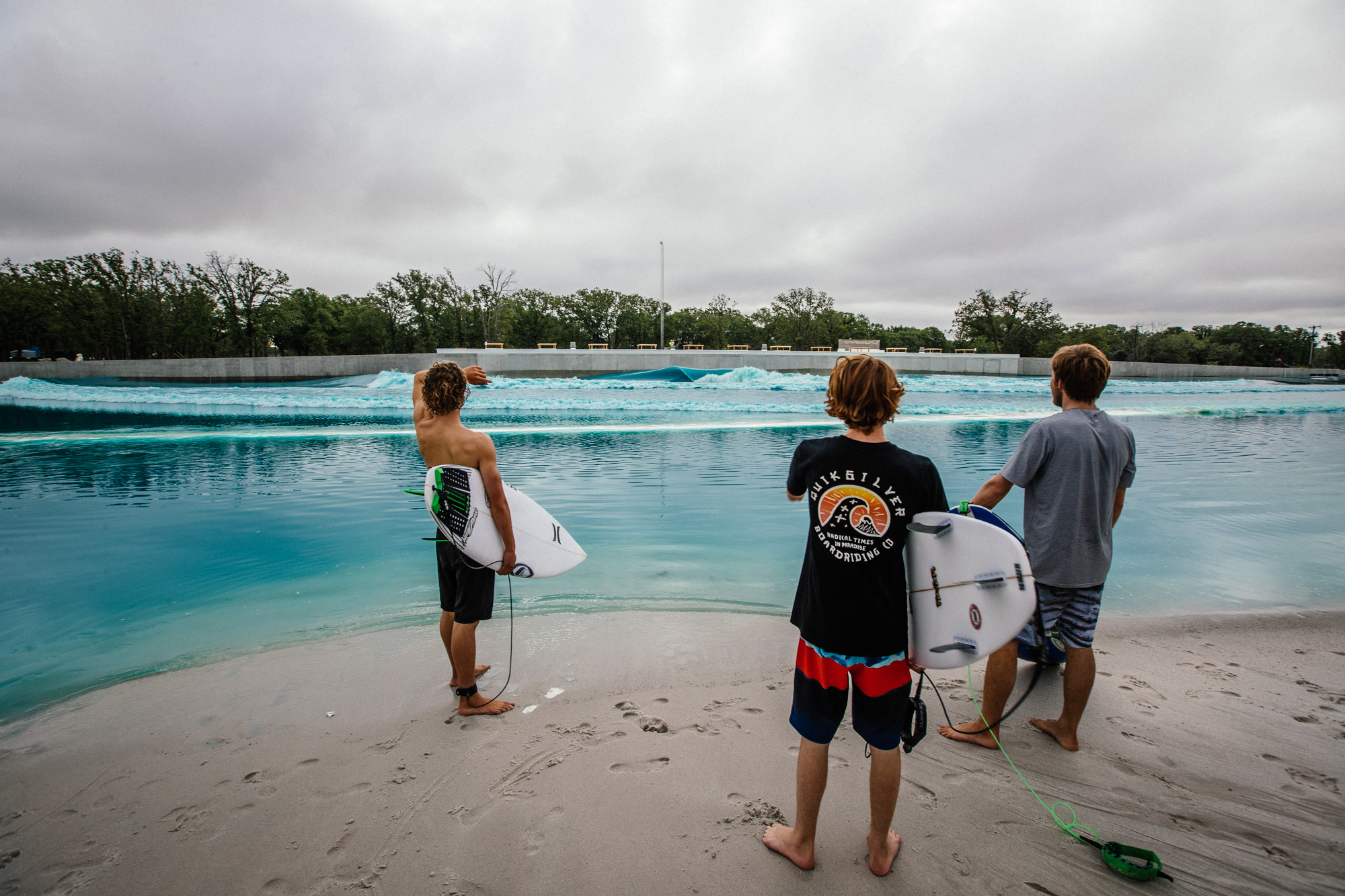 Waco Wavepool Closed While CDC Tests for
