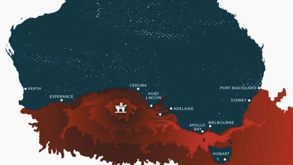 Australia Map Great Australian Bight.Norwegian Oil Company Reveals Plans To Drill The Great