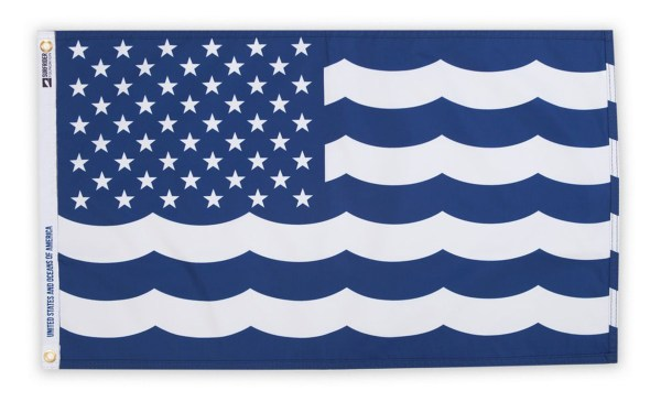 SURFRIDER UNITED STATES AND OCEANS OF AMERICA FLAG