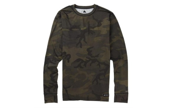 BURTON MIDWEIGHT BASELAYER CREW TOP