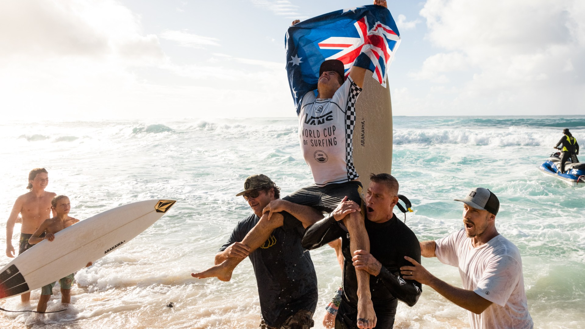 Jack Robinson Qualifies For 2020 Ct With Sunset Winsurfer