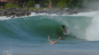 Dylan Graves and Dane Gudauskas Rip a Man-Made Wedge on an Artificial Island in Nigeria