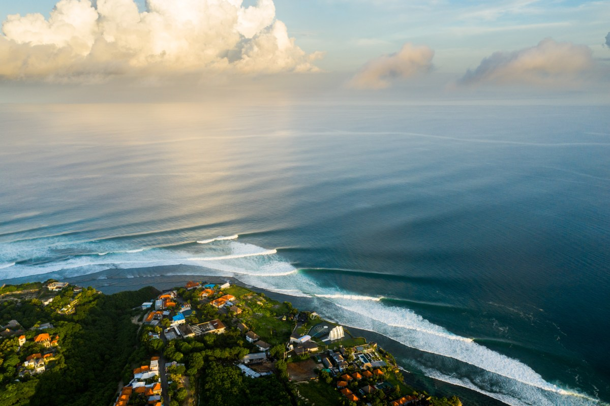 When was the last time Uluwatu was completely empty (aside from on Nyepi, Bali's yearly day of silence) on a perfect swell? 50 years ago? more?