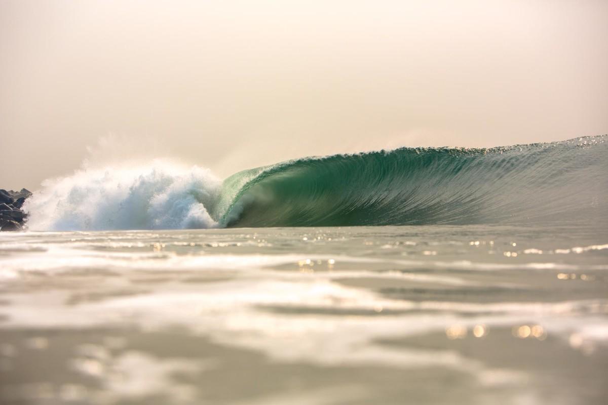 tarkwa bay waves in nigeria