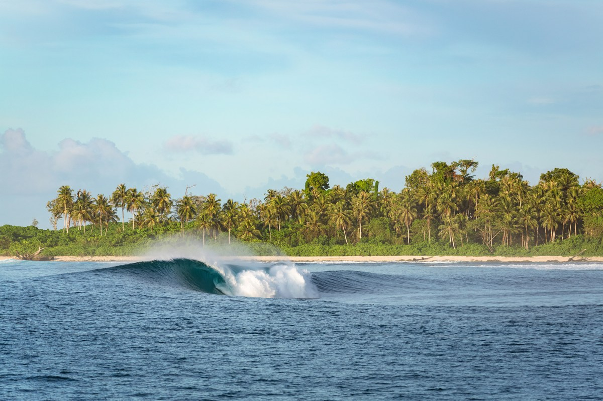 Mentawai IslandsThis mysto slab in the Mentawais was probably the shortest of all the waves we explored in the island chain and definitely one of the most fun to shoot. The wave is really hollow but oddly playful at the same time. The type of wave you dream about finding and scoring when you're considering a surf trip like this.