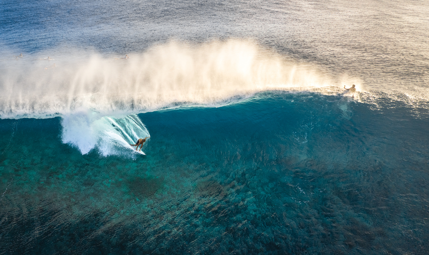 In his time away from the Tour, Kanoa Igarashi got a different perspective of Tahiti, visiting during its summer run of stellar surf with lightly-attended lineups.