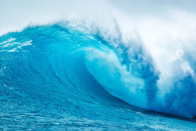 why do waves break