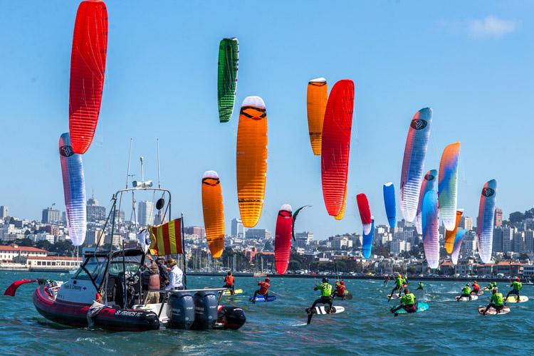 Nico Parlier Triumphs On Windy San Francisco Bay