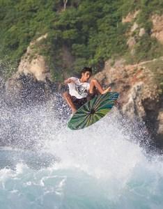 The mexican rider from barra de navidad jalisco is star of zap skimboards  latest short film also gerardo valencia loves to skim rh surfertoday