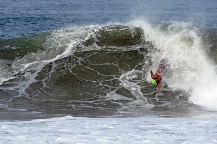 Godofredo Vasquez: the winner of the 2020 Bodysurfing Playa Zicatela Puerto Escondido competition | Photo: JP Murphy