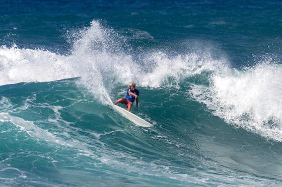 Jack Robinson Claims The North Shore Surf Shop Pro Junior