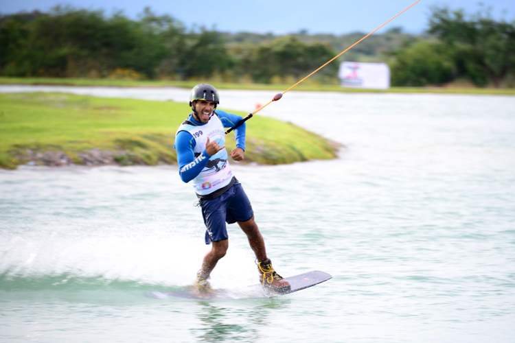 Lior Sofer: he smashed his opponents at the 2016 IWWF Cable Wakeboard World Championships | Photo: IWWF