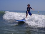 Youth surf lessons by Surfguys