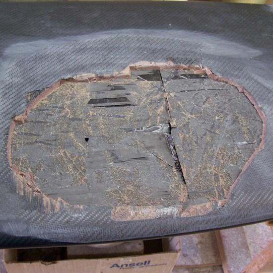 Aviso Carbon Fiber Surfboard Repair